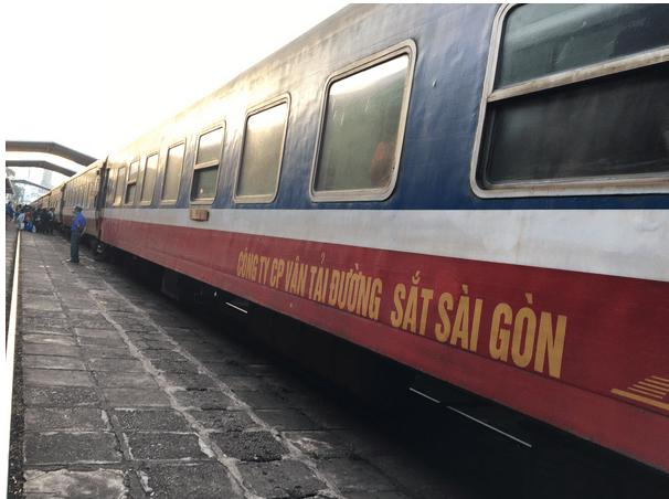 ベトナムで長距離列車に乗る
