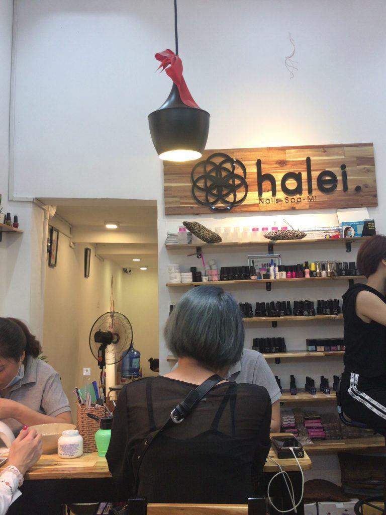 『halei』フットネイル体験ルポ in Ha Noi