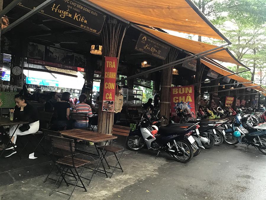 ドンスアン市場場外のストリートフード店 | ハノイの旧市街おすすめ観光スポット17選!