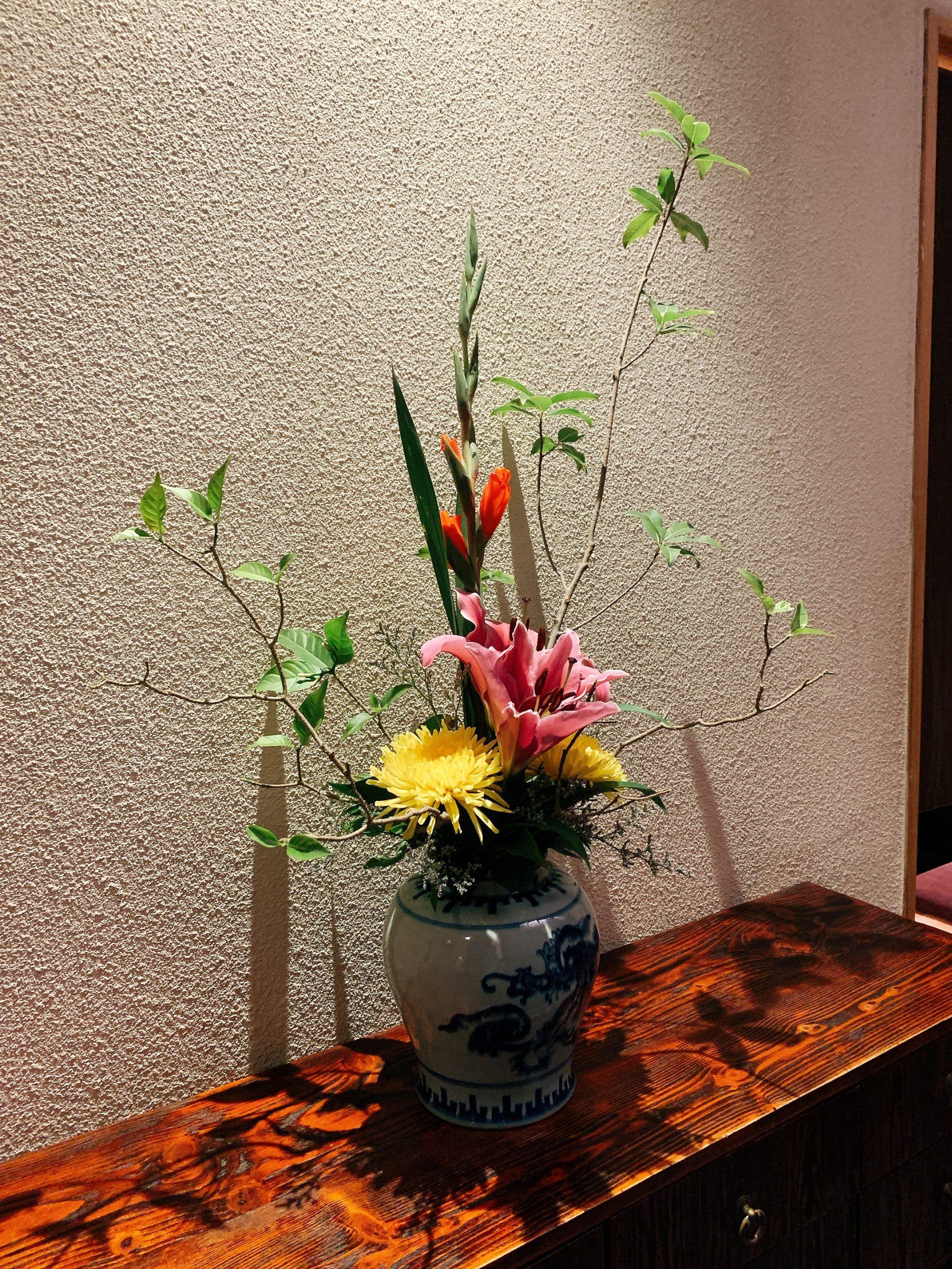 春夏冬 生け花