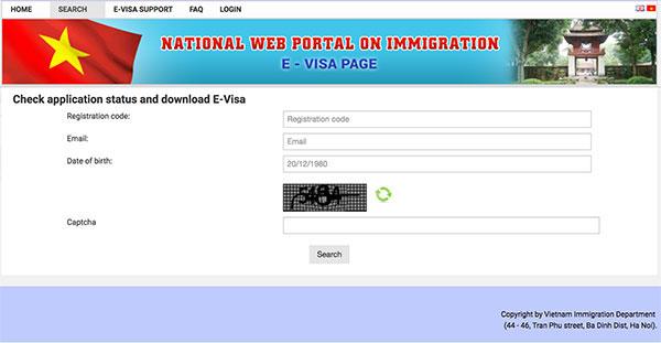 電子ビザ(E-visa)の検索ページ | 人材紹介会社 キャリアリンクベトナム